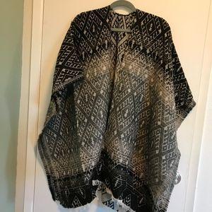 Lucky Brand Ombre Geo Kimono (NWT)